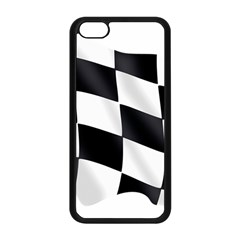 Flag Chess Corse Race Auto Road Apple Iphone 5c Seamless Case (black)