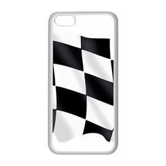 Flag Chess Corse Race Auto Road Apple Iphone 5c Seamless Case (white)