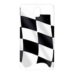 Flag Chess Corse Race Auto Road Samsung Galaxy Note 3 N9005 Hardshell Back Case