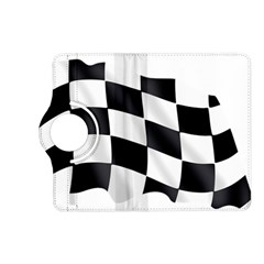 Flag Chess Corse Race Auto Road Kindle Fire Hd (2013) Flip 360 Case