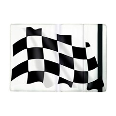 Flag Chess Corse Race Auto Road iPad Mini 2 Flip Cases