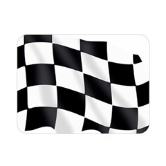 Flag Chess Corse Race Auto Road Double Sided Flano Blanket (mini)