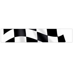 Flag Chess Corse Race Auto Road Flano Scarf (large)