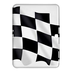 Flag Chess Corse Race Auto Road Samsung Galaxy Tab 4 (10.1 ) Hardshell Case