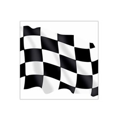 Flag Chess Corse Race Auto Road Satin Bandana Scarf
