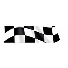Flag Chess Corse Race Auto Road Satin Scarf (oblong)