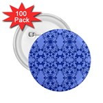 Floral Ornament Baby Boy Design 2.25  Buttons (100 pack)  Front