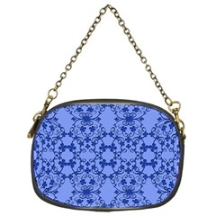 Floral Ornament Baby Boy Design Chain Purses (One Side)