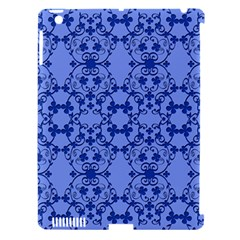 Floral Ornament Baby Boy Design Apple Ipad 3/4 Hardshell Case (compatible With Smart Cover)