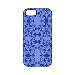 Floral Ornament Baby Boy Design Apple Iphone 5 Classic Hardshell Case (pc+silicone)