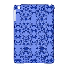 Floral Ornament Baby Boy Design Apple Ipad Mini Hardshell Case (compatible With Smart Cover)