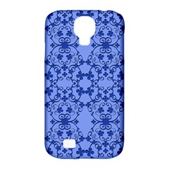 Floral Ornament Baby Boy Design Samsung Galaxy S4 Classic Hardshell Case (pc+silicone)