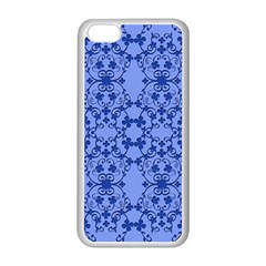 Floral Ornament Baby Boy Design Apple Iphone 5c Seamless Case (white)
