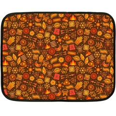 Pattern Background Ethnic Tribal Fleece Blanket (mini)