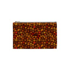 Pattern Background Ethnic Tribal Cosmetic Bag (small)