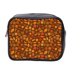 Pattern Background Ethnic Tribal Mini Toiletries Bag 2-Side