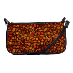 Pattern Background Ethnic Tribal Shoulder Clutch Bags