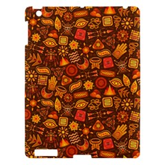 Pattern Background Ethnic Tribal Apple Ipad 3/4 Hardshell Case