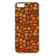 Pattern Background Ethnic Tribal Apple Seamless Iphone 5 Case (color)