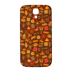 Pattern Background Ethnic Tribal Samsung Galaxy S4 I9500/I9505  Hardshell Back Case