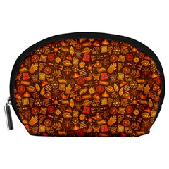 Pattern Background Ethnic Tribal Accessory Pouches (large)