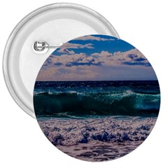 Wave Foam Spray Sea Water Nature 3  Buttons