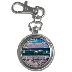 Wave Foam Spray Sea Water Nature Key Chain Watches