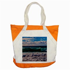Wave Foam Spray Sea Water Nature Accent Tote Bag