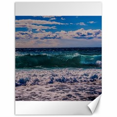 Wave Foam Spray Sea Water Nature Canvas 12  X 16
