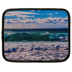 Wave Foam Spray Sea Water Nature Netbook Case (large)