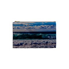 Wave Foam Spray Sea Water Nature Cosmetic Bag (small)