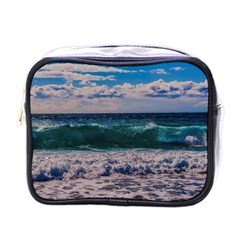 Wave Foam Spray Sea Water Nature Mini Toiletries Bags