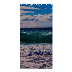 Wave Foam Spray Sea Water Nature Shower Curtain 36  x 72  (Stall)