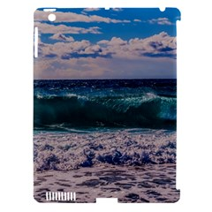 Wave Foam Spray Sea Water Nature Apple iPad 3/4 Hardshell Case (Compatible with Smart Cover)