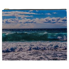 Wave Foam Spray Sea Water Nature Cosmetic Bag (xxxl)
