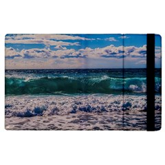 Wave Foam Spray Sea Water Nature Apple Ipad 3/4 Flip Case
