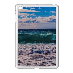 Wave Foam Spray Sea Water Nature Apple Ipad Mini Case (white)