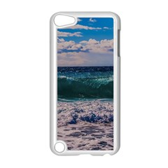 Wave Foam Spray Sea Water Nature Apple Ipod Touch 5 Case (white)