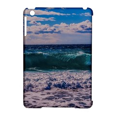 Wave Foam Spray Sea Water Nature Apple Ipad Mini Hardshell Case (compatible With Smart Cover)