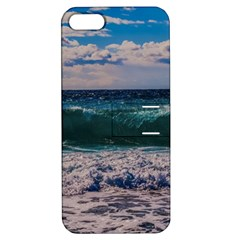 Wave Foam Spray Sea Water Nature Apple iPhone 5 Hardshell Case with Stand