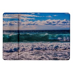 Wave Foam Spray Sea Water Nature Samsung Galaxy Tab 10 1  P7500 Flip Case