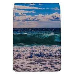 Wave Foam Spray Sea Water Nature Flap Covers (L)