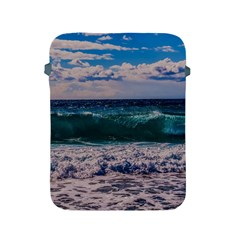 Wave Foam Spray Sea Water Nature Apple Ipad 2/3/4 Protective Soft Cases