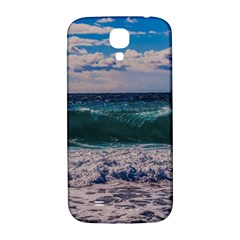 Wave Foam Spray Sea Water Nature Samsung Galaxy S4 I9500/I9505  Hardshell Back Case