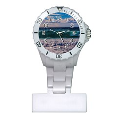 Wave Foam Spray Sea Water Nature Plastic Nurses Watch