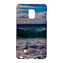 Wave Foam Spray Sea Water Nature Galaxy Note Edge