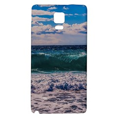 Wave Foam Spray Sea Water Nature Galaxy Note 4 Back Case