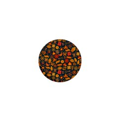 Pattern Background Ethnic Tribal 1  Mini Buttons