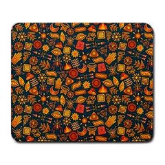 Pattern Background Ethnic Tribal Large Mousepads