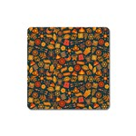 Pattern Background Ethnic Tribal Square Magnet Front